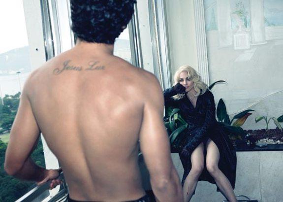 Madonna e Jesus para W.