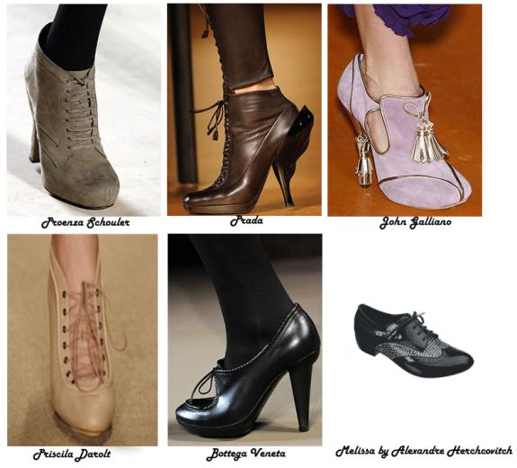 Oxfords (quase uma ankle boots e tradicional)