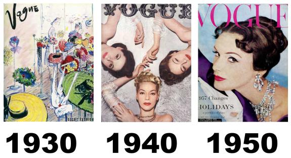 1930,1940 e 1950